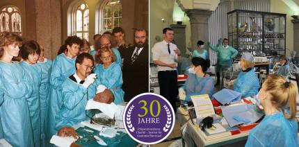 30 Jahre Präparierkurse im Institut für Anatomie der Charité