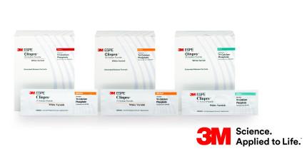 3M Clinpro White Varnish: Zwei neue Geschmacksrichtungen verfügbar!