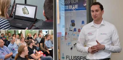Erste 3Shape Days von Flussfisch in Hamburg