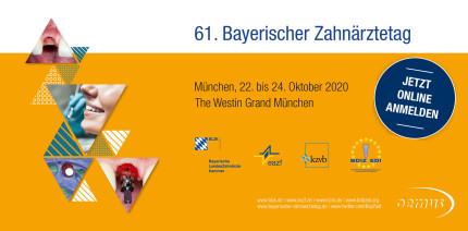 61. Bayerischer Zahnärztetag – Jetzt Frühbucherrabatt sichern