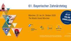 Implantologie 2020 –61. Bayerischer Zahnärztetag im Oktober in München