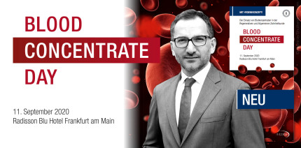 Blood Concentrate Day am 11. September in Frankfurt