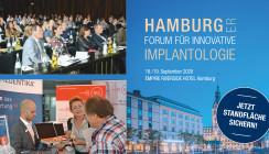 Hamburger Forum für Innovative Implantologie: Jetzt Standflächen sichern!