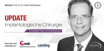 Implantatchirurgie-Kurse mit Prof. Palm in Konstanz und Düsseldorf