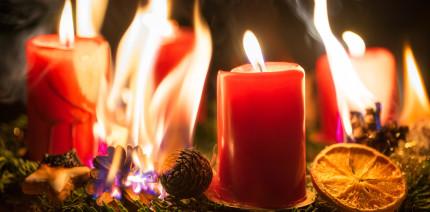 Besinnlichkeit vs. Gefahr: Advent, Advent, der Pausenraum brennt