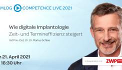 """CAMLOG-OP """"Wie digitale Implantologie Zeit- und Termineffizienz steigert"""""""