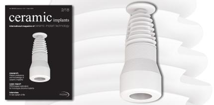Druckfrisch & online: Aktuelle Ausgabe der ceramic implants