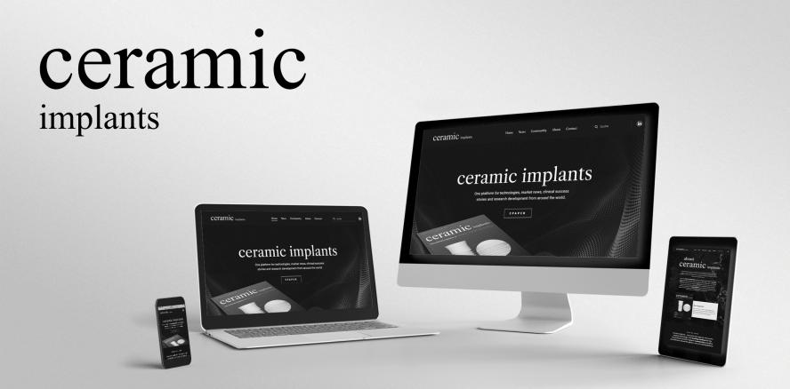 Neu: ceramic implants-Newsletter – Jetzt registrieren!