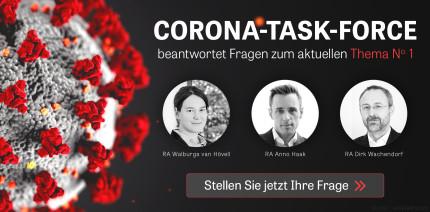 Corona Taskforce: Sie fragen – unsere Experten antworten