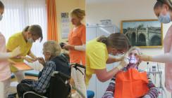 Dienstag ist Heimtag: Zahnärztin berät Senioren und Pflegekräfte