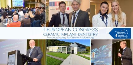 1. ESCI Europakongress Keramikimplantologie erfolgreich