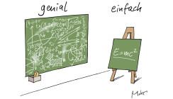 Genialität versus Einfachheit