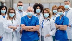 Pandemie: Deutsche geben ihrem Gesundheitssystem Bestnoten