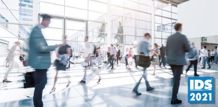 IDS 2021 ermöglicht schnelle und einfache Registrierung