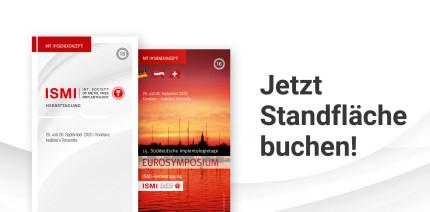 EUROSYMPOSIUM/ISMI-Herbsttagung: Jetzt Standfläche sichern!