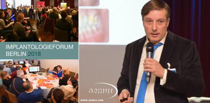 Innovativ und gut besucht - Implantologieforum Berlin 2018