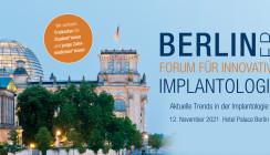 Freikarten für das Berliner Forum für Innovative Implantologie