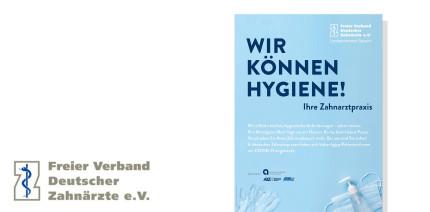 """Informationsoffensive des FVDZ Bayern """"Wir können Hygiene!"""""""