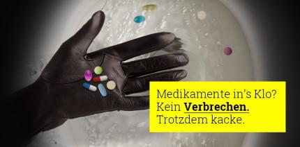 Neue Kampagne gegen falsche Medikamenten-Entsorgung