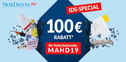 Große Spar-Aktion zur IDS 2019 bei Nordenta!