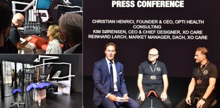 Dänische Weltneuheit: XO FLOW bietet digitale Behandlungslösung