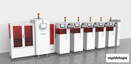 Vollautomatischer 3D-Druck von Dentalmodellen für transparente Aligner