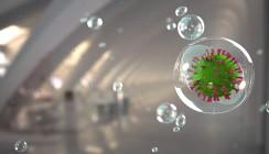 COVID-19-Studie: Speichel-Aerosole weitgehend nicht infektiös