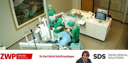 Live OP: Sofortimplantat Regio 11 mit Sofortversorgung