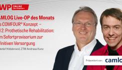"""1 CME-Punkt: Live-OP """"Das COMFOUR® Konzept – Teil 2"""""""