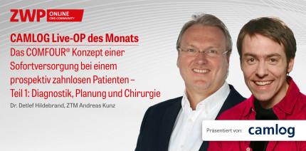 """1 CME-Punkt: Live-OP """"Das COMFOUR® Konzept – Teil 1"""""""