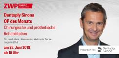 Morgen ab 15 Uhr live: Chirurgische und prothetische Rehabilitation