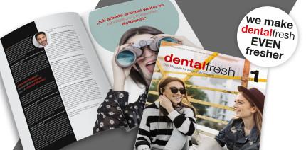 Even fresher: Die dentalfresh geht neu an den Start