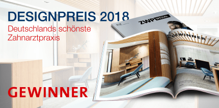 Hamburger Praxislandschaft gewinnt ZWP Designpreis 2018