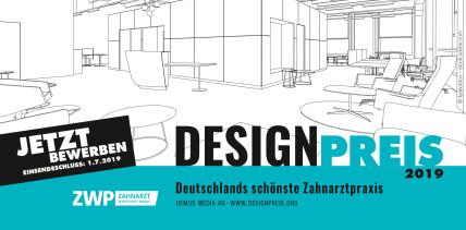 Frist endet: Jetzt für den ZWP Designpreis 2019 bewerben