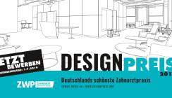 Frist endet heute: Jetzt für den ZWP Designpreis 2019 bewerben