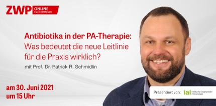 "Web-Tutorial am 30. Juni ""Antibiotika in der PA-Therapie"""