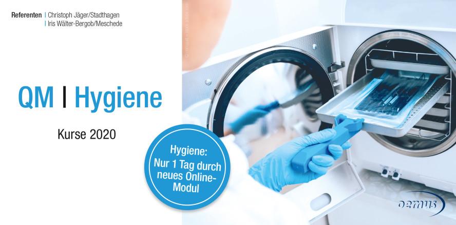 Hygieneseminar 2020 – jetzt modular aufgebaut