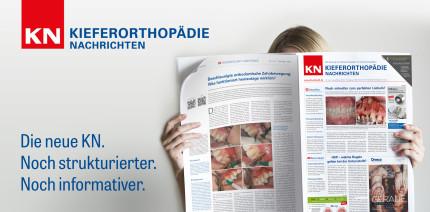 KN Kieferorthopädie Nachrichten in neuem Look