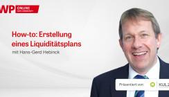 """Web-Tutorial """"Erstellung eines Liquiditätsplans"""""""