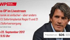Live-OP: Sofortimplantat Regio 11 und 21 mit Sofortversorgung