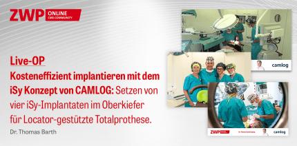 CAMLOG Live-OP aus Leipzig – Test war erfolgreich