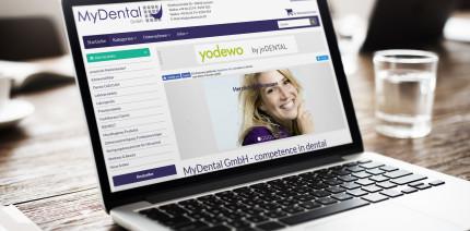 Webshop-Jubiläum: MyDental erweitert das Sortiment