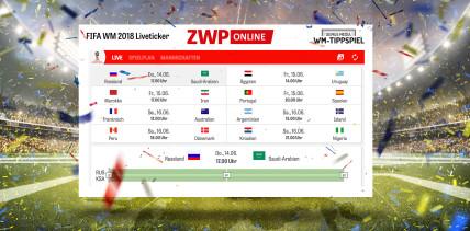 ZWP online WM-Liveticker: Mittendrin statt nur dabei