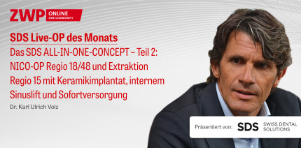 "1 CME-Punkt: Live-OP ""Das SDS ALL-IN-ONE-CONCEPT – Teil 2"" im Archiv"