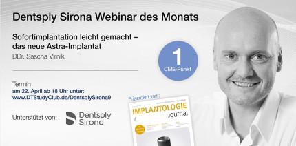 Webinar: Sofortimplantation leicht gemacht – das neue Astra-Implantat
