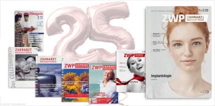25 Jahre ZWP Zahnarzt Wirtschaft Praxis – Aus Rot wird Weiß