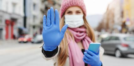 Studie: Social Distancing kann Infektionen reduzieren