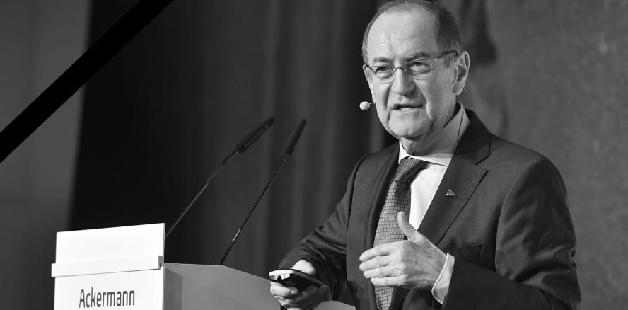 Ein Leben für die Implantologie: Dr. Karl-Ludwig Ackermann verstorben