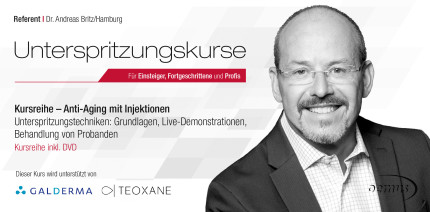 """""""Unterspritzungskurs"""" im Oktober 2019 in München"""