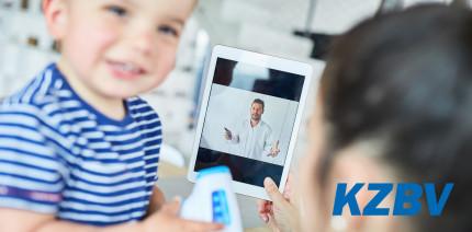 KZBV: Videosprechstunden für alle Versicherten!